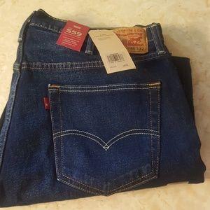 NWT Levis 559 Mens Jeans